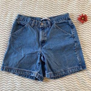 Vintage Tommy Hilfiger Denim Shorts Medium Wash 8
